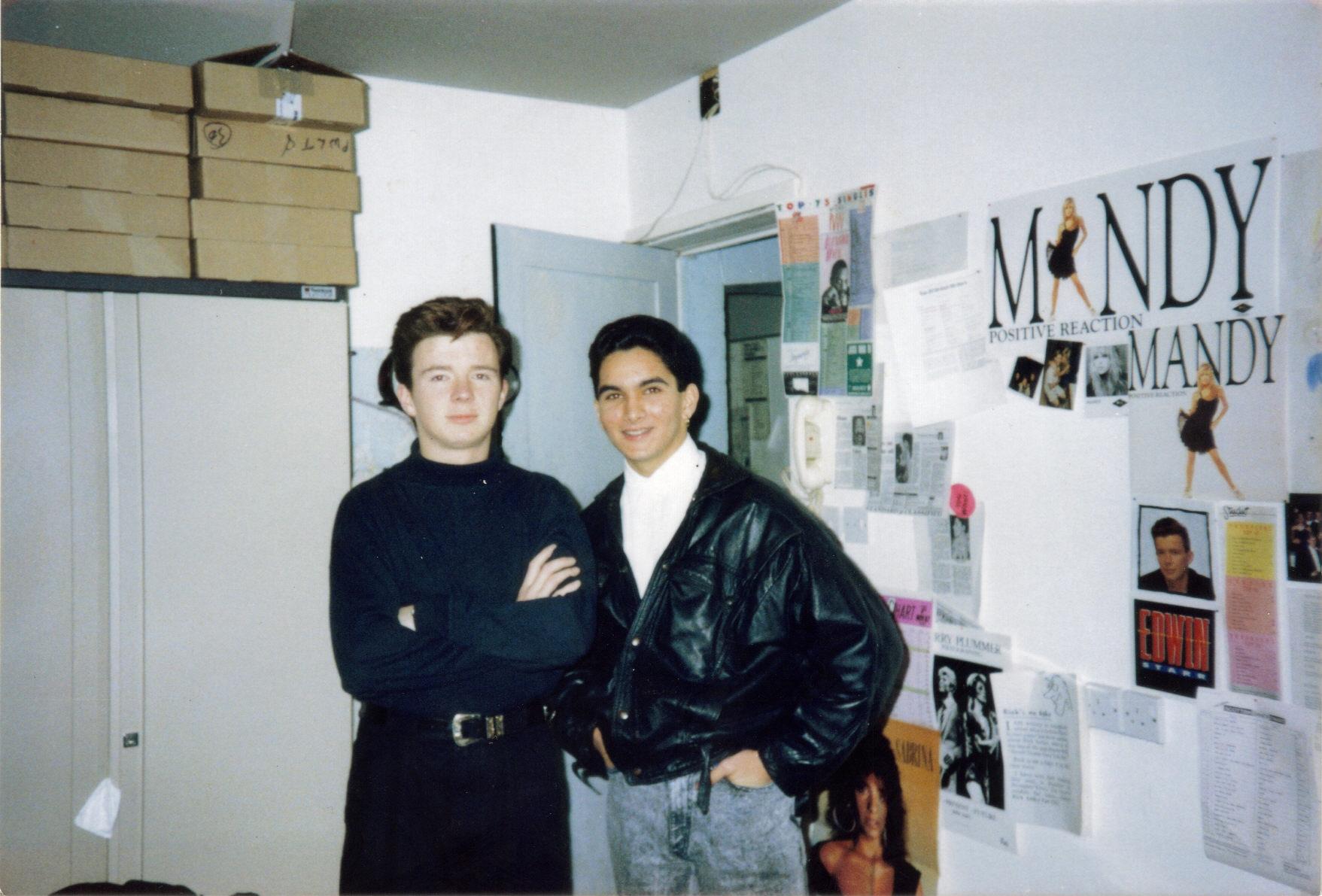Les Rick Pwl 22nd Dec 1987 Les Sharma